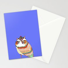 Owl, owl art, owl illustration, owl print,  Stationery Cards