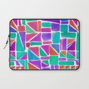 Watercolour Shapes Laptop Sleeve
