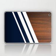Wooden Navy Laptop & iPad Skin