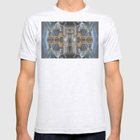 The Space Excavation Terror Mens Fitted Tee Ash Grey SMALL