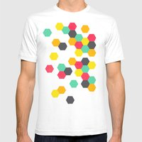 Crazy Clusters Mens Fitted Tee White SMALL