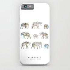 Elephants of the United States Slim Case iPhone 6s