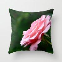 Flower II Throw Pillow