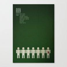 Alien - 8th passenger Canvas Print