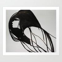 Orgasm Art Print