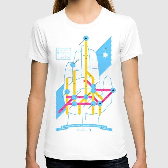 Michigan Highway System T-shirt