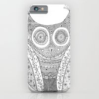 Owl Doodle art iPhone 6 Slim Case