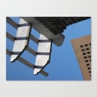 Sky Grids Canvas Print