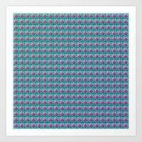 Connexions Art Print