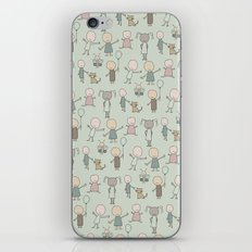 Children Playing-on Mint iPhone & iPod Skin