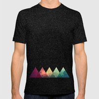 Tri-Sky Mens Fitted Tee Tri-Black SMALL