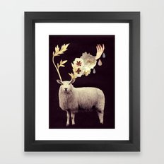i find you hidden there Framed Art Print