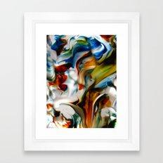 made waves Framed Art Print