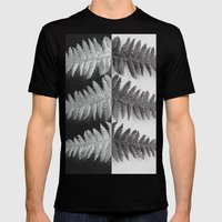 OPPOSITES LOVE - Ferns L… Mens Fitted Tee Black SMALL