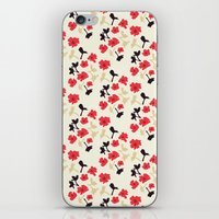 poppies will make them sleep iPhone & iPod Skin