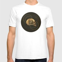 Skull I Mens Fitted Tee White SMALL