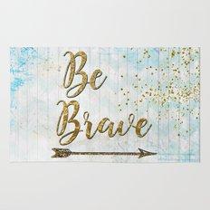 Be Brave Rug
