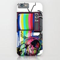COLORS TV iPhone 6 Slim Case