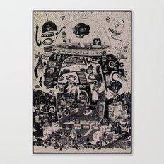 Contacto Real Canvas Print