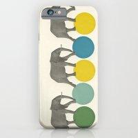 Travelling Elephants iPhone 6 Slim Case