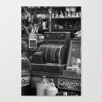 Cash Register Canvas Print