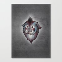 Ghost / Alone Canvas Print