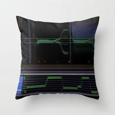 deep space sequencing Throw Pillow