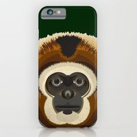 iPhone & iPod Case featuring Gibbon by Thefunctionalfox