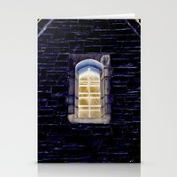 Keep One Eye Open at Night Stationery Cards