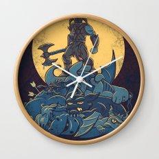 The Dragon Slayer Wall Clock