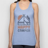 Happy Camper Unisex Tank Top