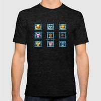 Stage Select Mens Fitted Tee Tri-Black SMALL