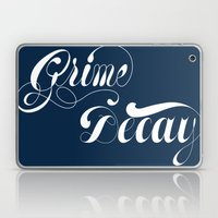 Grimey Type. Laptop & iPad Skin