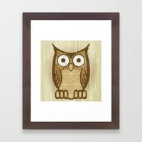 Owl Always Love You Framed Art Print