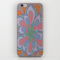 Drops And Petals 3 iPhone & iPod Skin