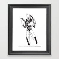 Bondage Burn Victim (Ant… Framed Art Print