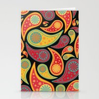 Bohemian Paisley  Stationery Cards