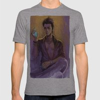 Magnus Bane Mens Fitted Tee Athletic Grey SMALL