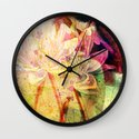 waterlily 2 Wall Clock