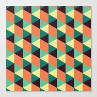 Fall Illusions Canvas Print