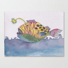 rem fish Canvas Print