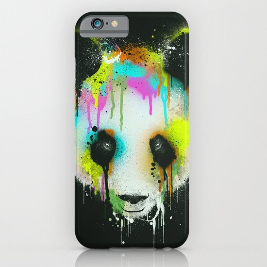 Technicolour Panda iPhone & iPod Case