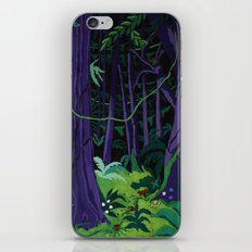 La Foresta Tropicale (Tropical Forest) iPhone & iPod Skin