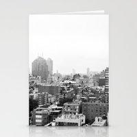 Lower East Side Skyline … Stationery Cards