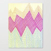 SummerJazz Canvas Print