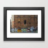 Graffiti #1 Framed Art Print