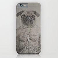2 Pug iPhone 6 Slim Case