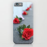 iPhone & iPod Case featuring Flight 93 Memorial/Trail of Roses by Casey VanderMeulen