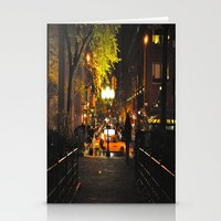 Nocturnal Union Square Stationery Cards