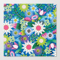 Botanical Fantastical Canvas Print